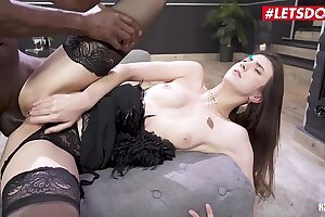 LETSDOEIT - Lina Luxa Gets Some Anal Exalt Outsider Say no to BBC Girl Friday Mike Salesperson