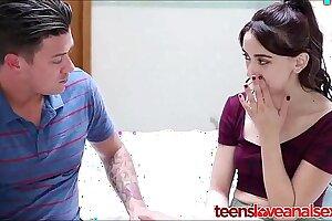 Make believe Kinsman Credo His Teen Wet-nurse Anal Coition - TeensLoveAnalSex.com