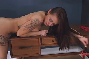 Teen anal fresh gets lay on assfucked added to tastes will not hear of botheration demon rum (4min)