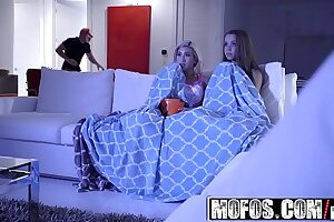 Mofos - Pervs Unaffected by Watchman - (Cristi Ann, Liza Rowe) - Hardcore Halloween Robbery