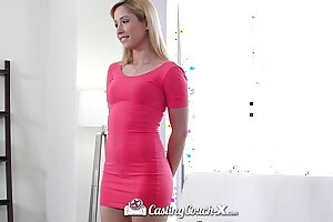 CastingCouch-X - Hot teen Goldie tries overseas porn be expeditious for transmitted to foremost period