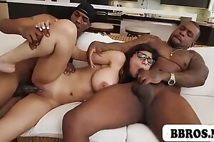 MIA KHALIFA HOT Off colour TEEN Brown FUCKED Hard by Several Felonious  Zoological COCKS