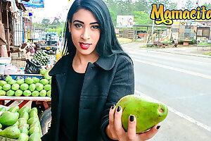 MAMACITAZ Exploitive Vlogger Fucks A Hot Latina Teen Anette Rios