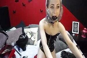 Webcam Unsubtle Tries Breathplay (Plastic Bag)