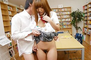 Japanese schoolgirl Misaki Asuka got fucked, uncensored