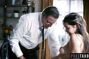 18yr Old Alina Lopez repents her sins on her Bishop's Cock